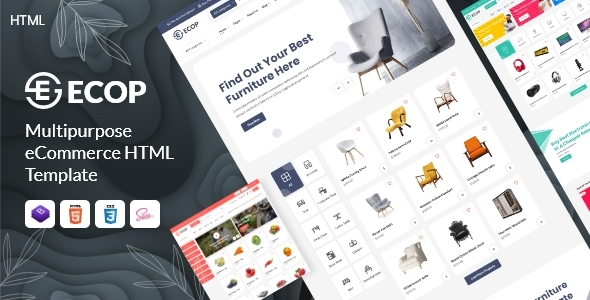 [Free Download] Ecop – Multipurpose eCommerce HTML Template (Nulled) [Latest Version]