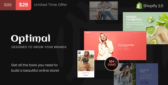[Free Download] Optimal Multipurpose Shopify Theme (Nulled) [Latest Version]