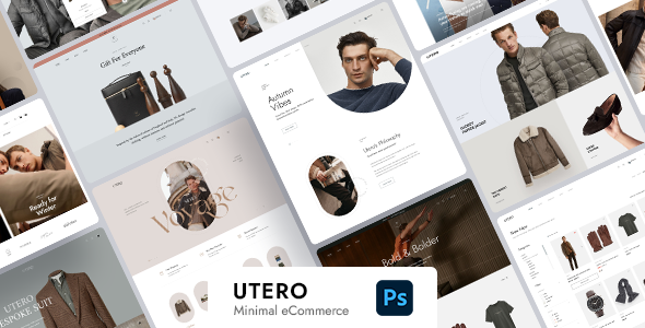 [Free Download] Utero – Minimalist eCommerce PSD Template (Nulled) [Latest Version]