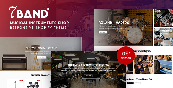[Free Download] 7Band – Musical Instruments Shop Shopify Theme (Nulled) [Latest Version]