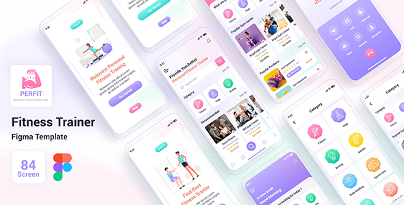 [Free Download] Prefit – Fitness Trainer Figma Template (Nulled) [Latest Version]