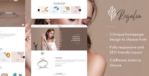 [Free Download] Regalia a complete Jewelry shop HTML template (Nulled) [Latest Version]