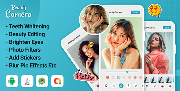 [Free Download] Beauty Camera – Photo Editor Pro – Sweet selfie (Nulled) [Latest Version]