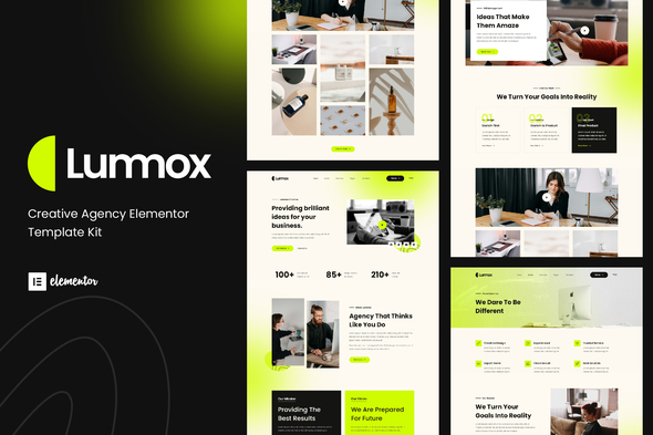 [Free Download] Lummox – Creative Agency Elementor Template Kit (Nulled) [Latest Version]