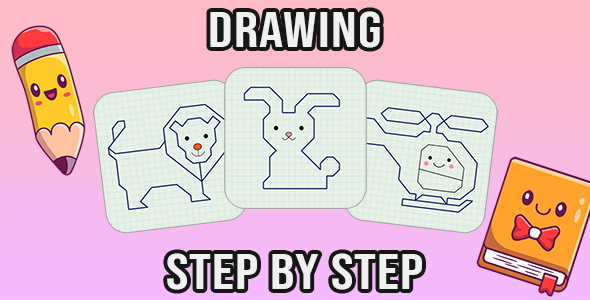 [Free Download] Drawing step by step (PC & Mobile) (Nulled) [Latest Version]