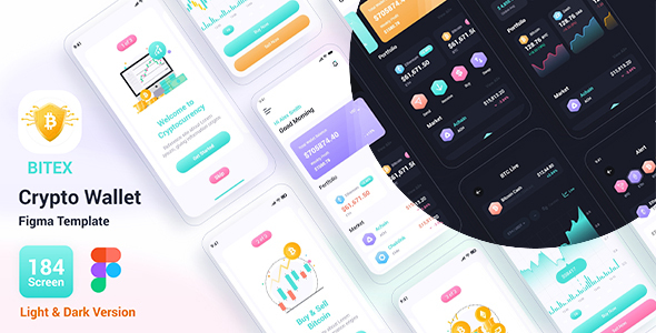 [Free Download] Bitex – Crypto Wallet Figma Template (Nulled) [Latest Version]