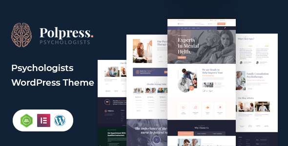 [Free Download] Polpress – Psychiatric therapy WordPress Theme (Nulled) [Latest Version]