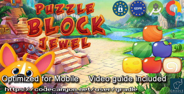 [Free Download] Puzzle Block Jewel V6 (Admob + GDPR + Android Studio) (Nulled) [Latest Version]