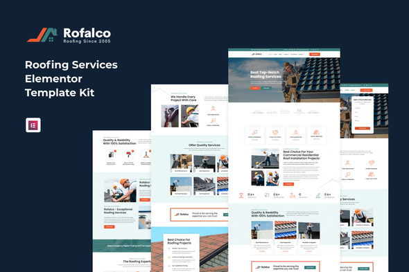 [Free Download] Rofalco – Roofing Services Elementor Template Kit (Nulled) [Latest Version]