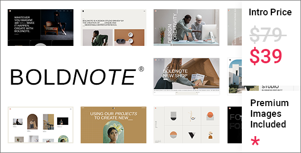[Free Download] Boldnote – Portfolio and Agency Theme (Nulled) [Latest Version]