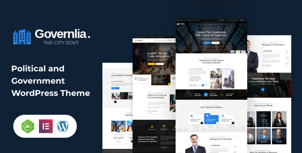 [Free Download] Governlia – Political WordPress Theme (Nulled) [Latest Version]